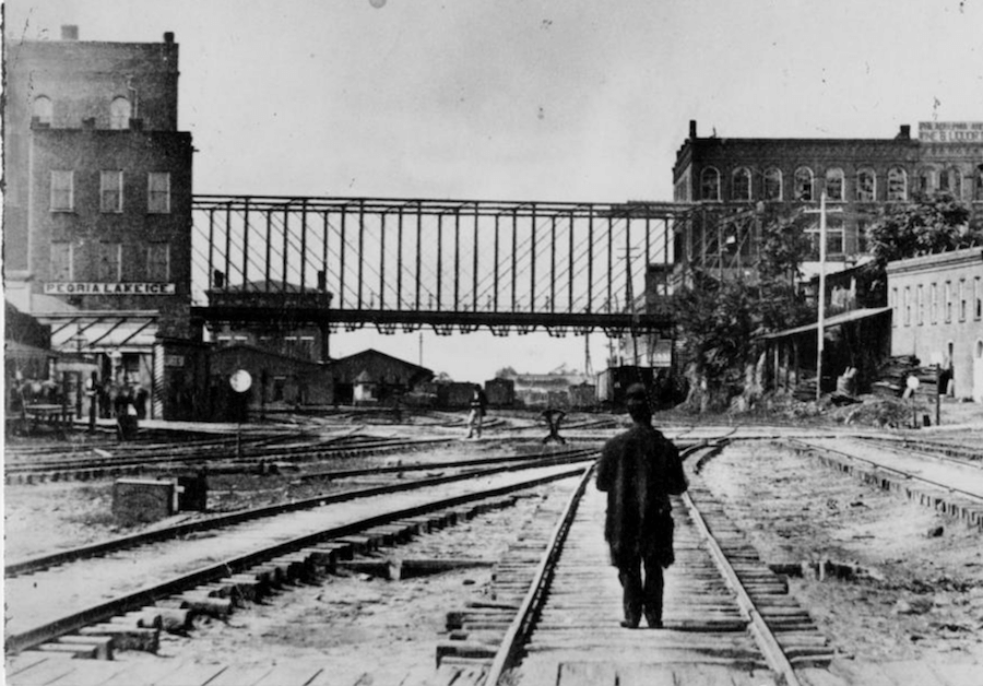 Image from the late 1800s where the current site of Underground stands