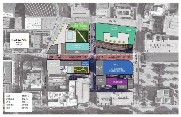 Hotel, apartments and nightclub announced for Underground Atlanta redevelopment