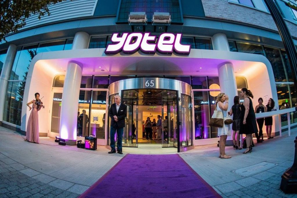 Yotel Signs Atlanta, Georgia, USA