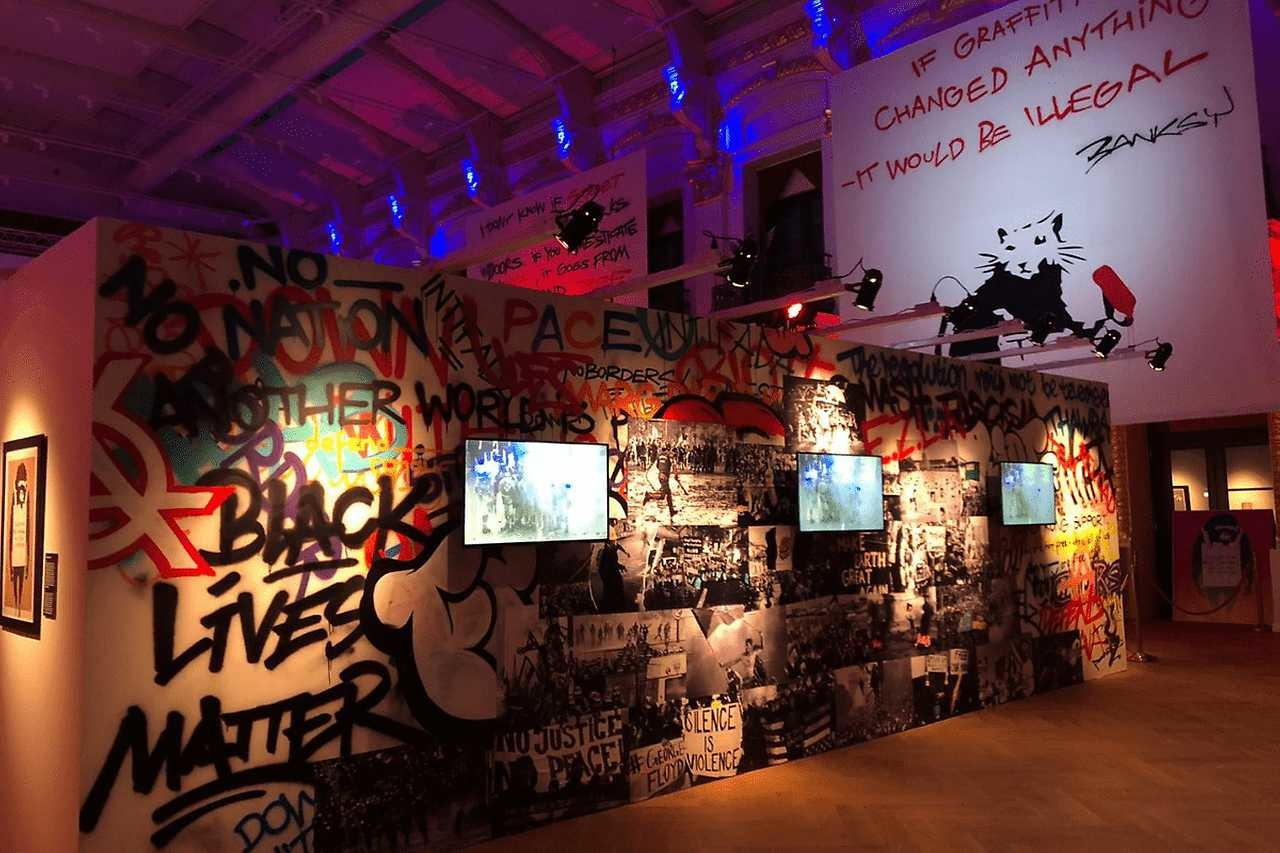 Underground Atlanta Selected For North American Debut Of THE ART OF BANKSY: WITHOUT LIMITS